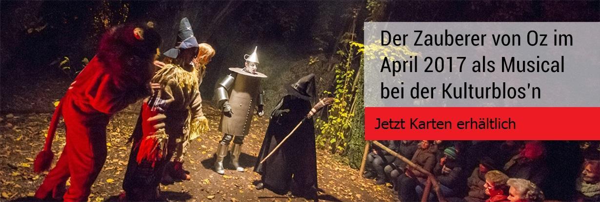 Zauberer von Oz Kulturblosn Mariakirchen