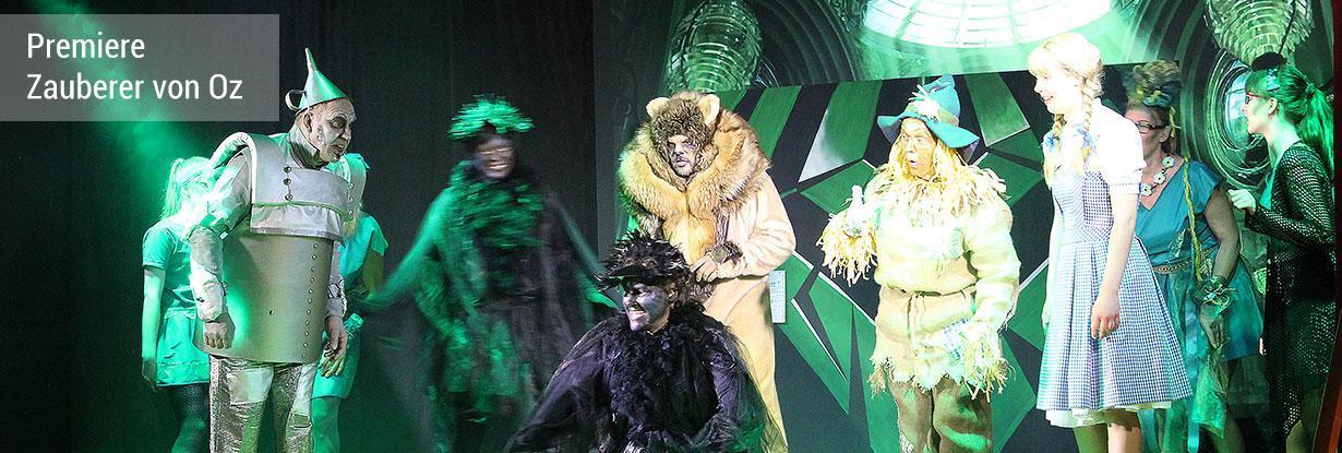 Der Zauberer von Oz - Premiere