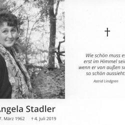 Wir trauern um Angela – 04.07.2019