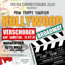Film trifft Theater – Hollywood und der Broadway – VERSCHOBEN!